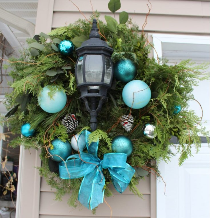 Turn Your $17 Wreath Into A $170 Wreath