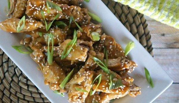 Thai Peanut Chicken Wings Appetizer – A Delicious and Easy Slow Cooker Recipe!