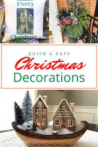 15 quick and easy DIY Christmas decorations
