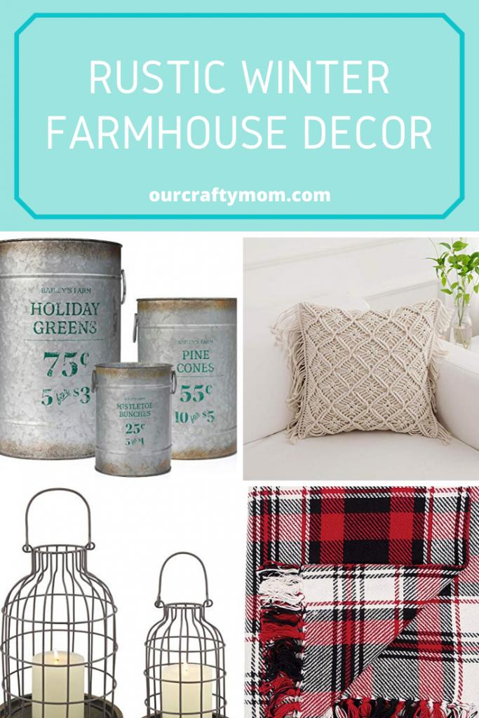 rustic winter farmhouse decor