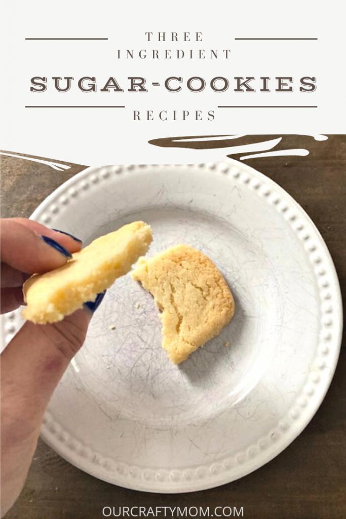 3 ingredient sugar cookie recipe