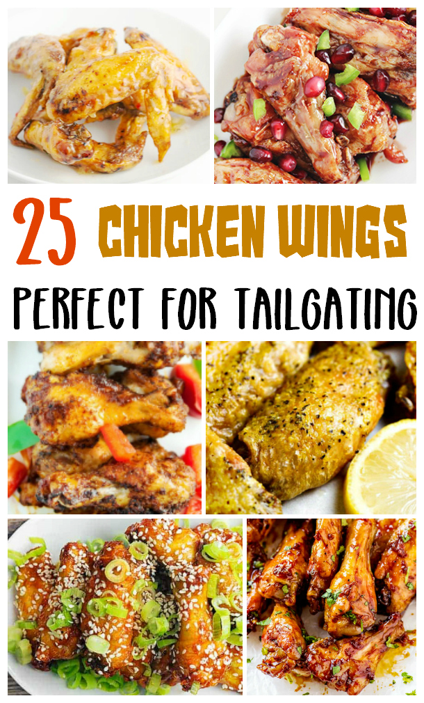 25 chicken wings for tailgating