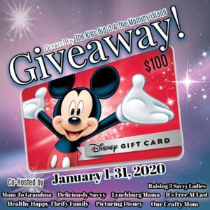 disney card giveaway