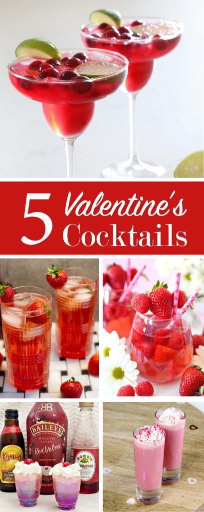 5 valentine's day cocktails