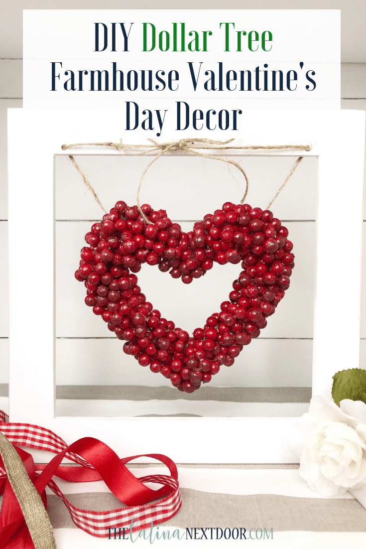 DIY Dollar Tree Valentines Day Decor