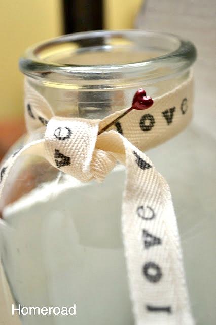 ❤️ DIY Printed Valentine Ribbon
