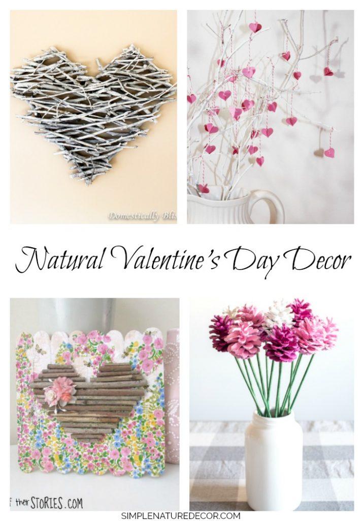 Valentine Branch crafts from 20 Gorgeous Valentine Day Nature Inspired Crafts