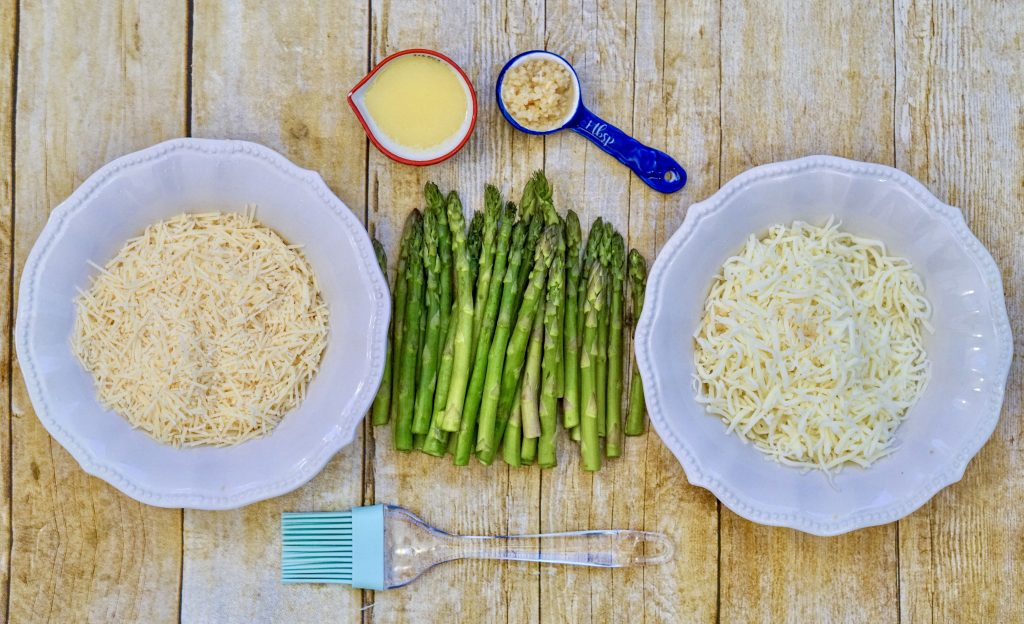 cheesy asparagus ingredients