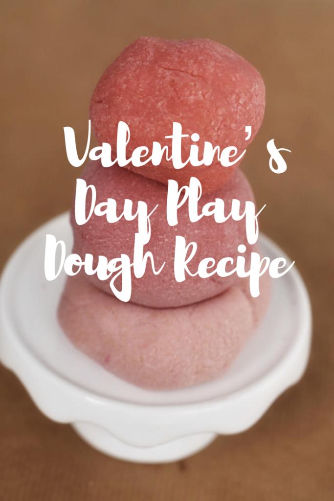 Valentine's Day Play Dough Recipe