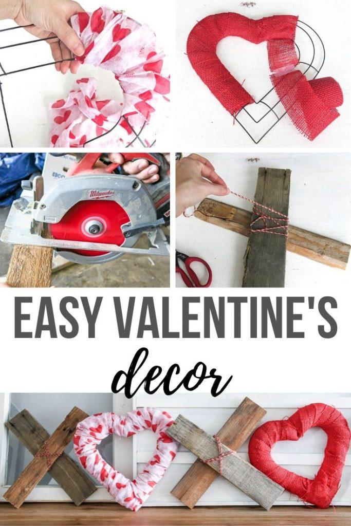 XOXO Decor: Easy DIY Valentine's Day Home Decor Idea