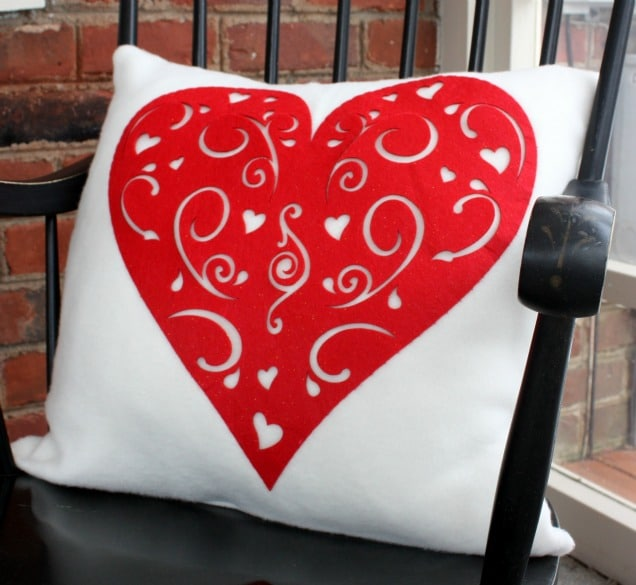 Dollar Store Inspired Valentine's Day Pillows