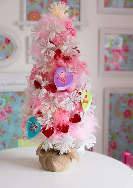 Do a Valentine tree. YES! It's a thing...