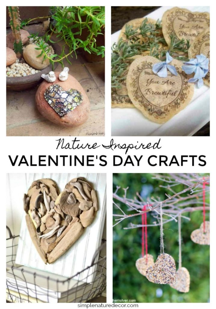 nature inspired valentine's day crafts