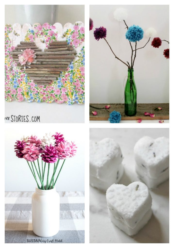 nature inspired crafts from 20 Gorgeous Valentine Day Nature Inspired Crafts