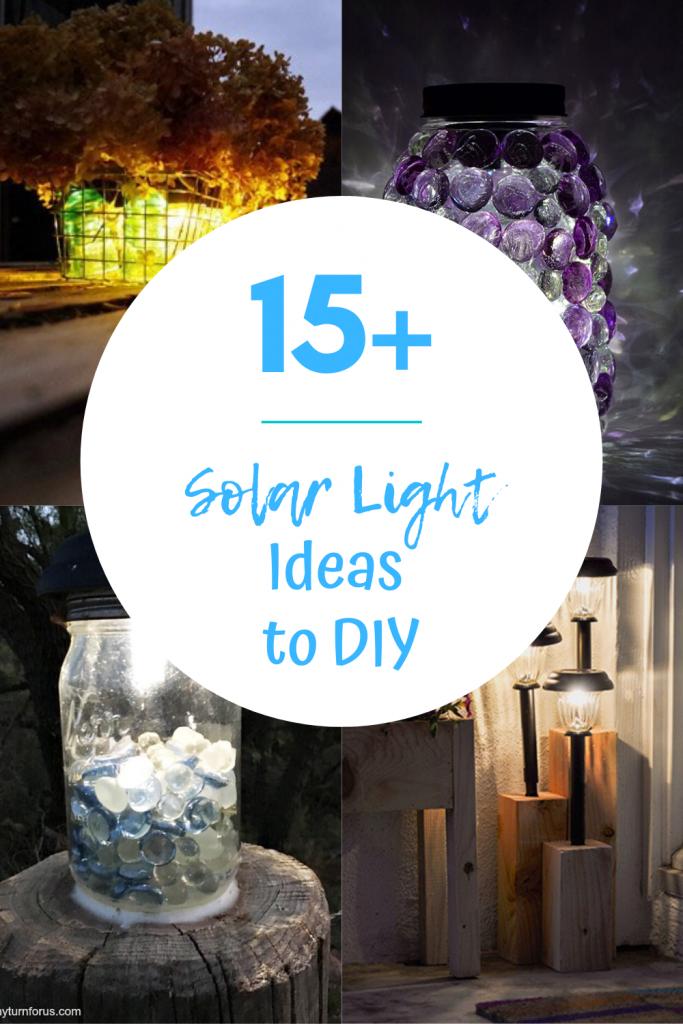 solar light ideas to diy