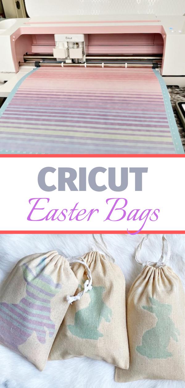 Easter treat bags Cricut