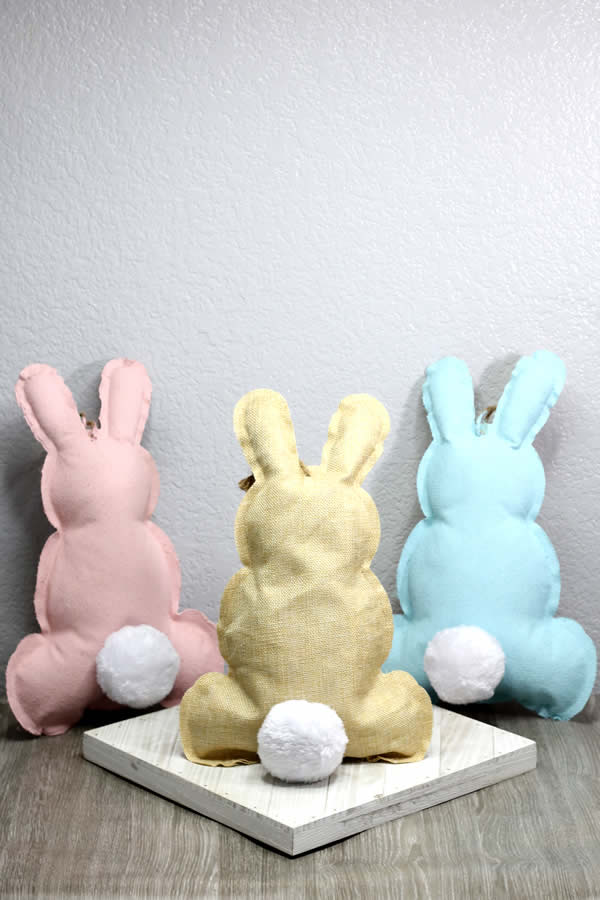 Dollar Store Spring Decor – Easy DIY Crafts – How To Make Easter Bunnies