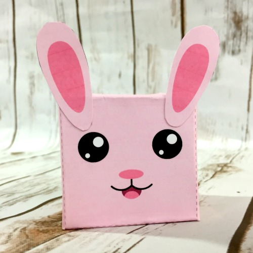 DIY Bunny Box Easter Craft