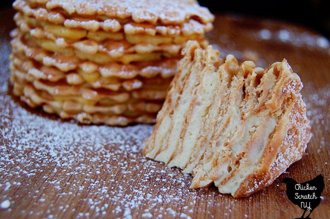 Eggnog Icebox Cake - No Bake Christmas Dessert