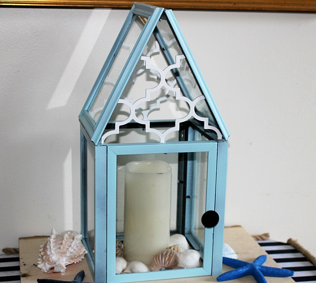 Picture frame lantern