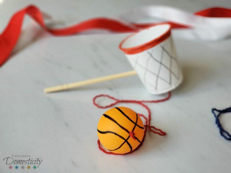 Basketball Cup and Ball Craft
