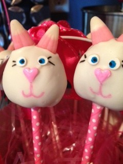 Easter Bunny Cake Pop