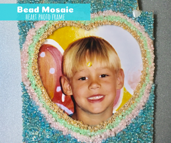 Bead Mosaic Frame