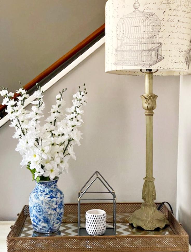 finished chinoiserie vase