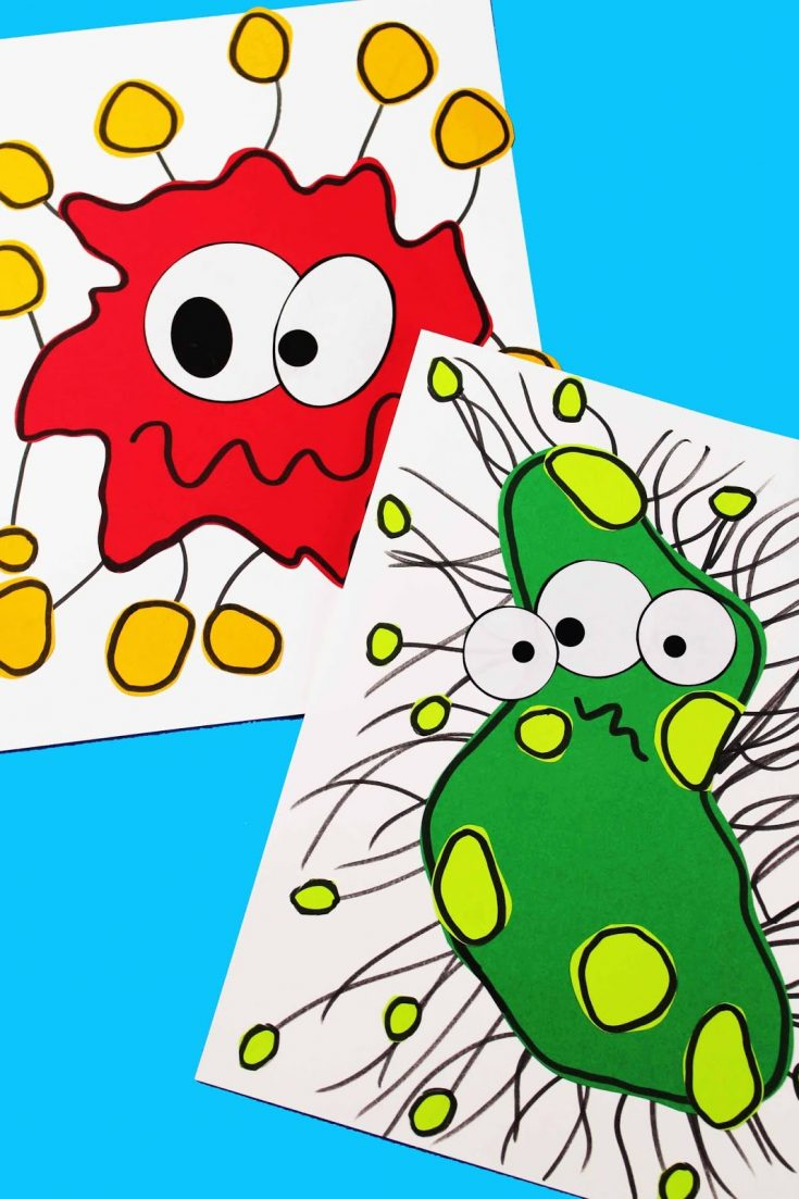 Germ Craft - a fun way to teach kids about germs.