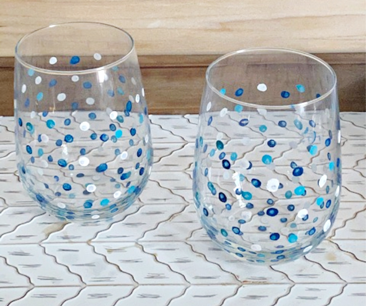 How To Make Beautiful Diy Hand Painted Wine Glasses