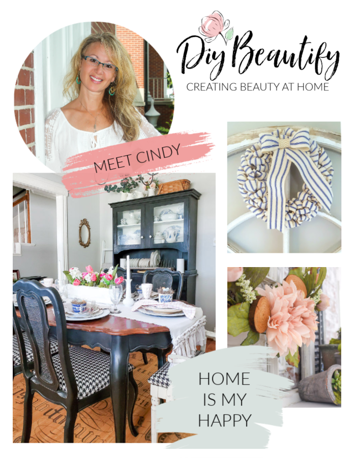 meet Cindy from DIY Beautify