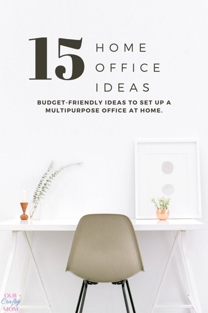 home office ideas white desk with gray chair