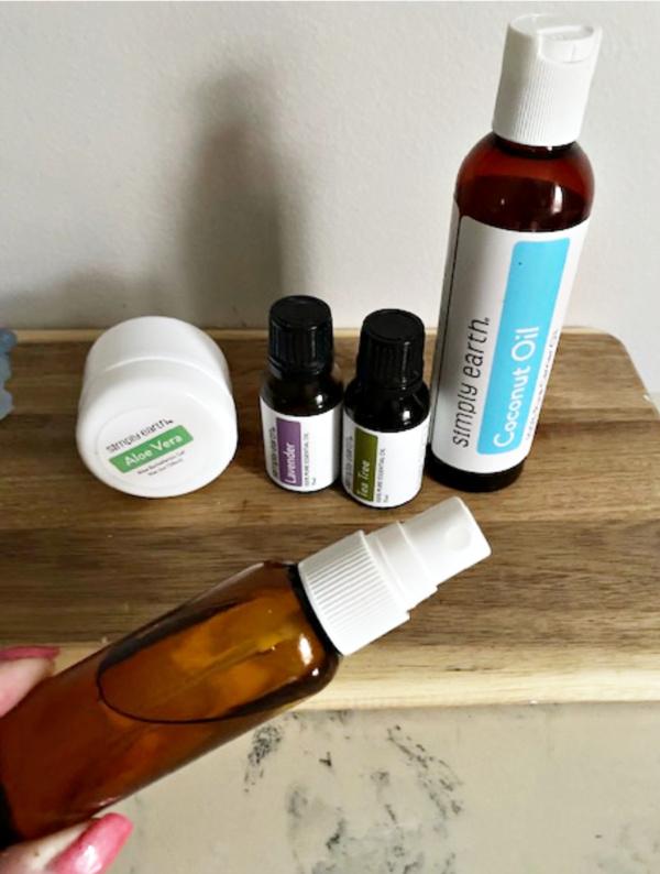 supplies for diy sanitizer