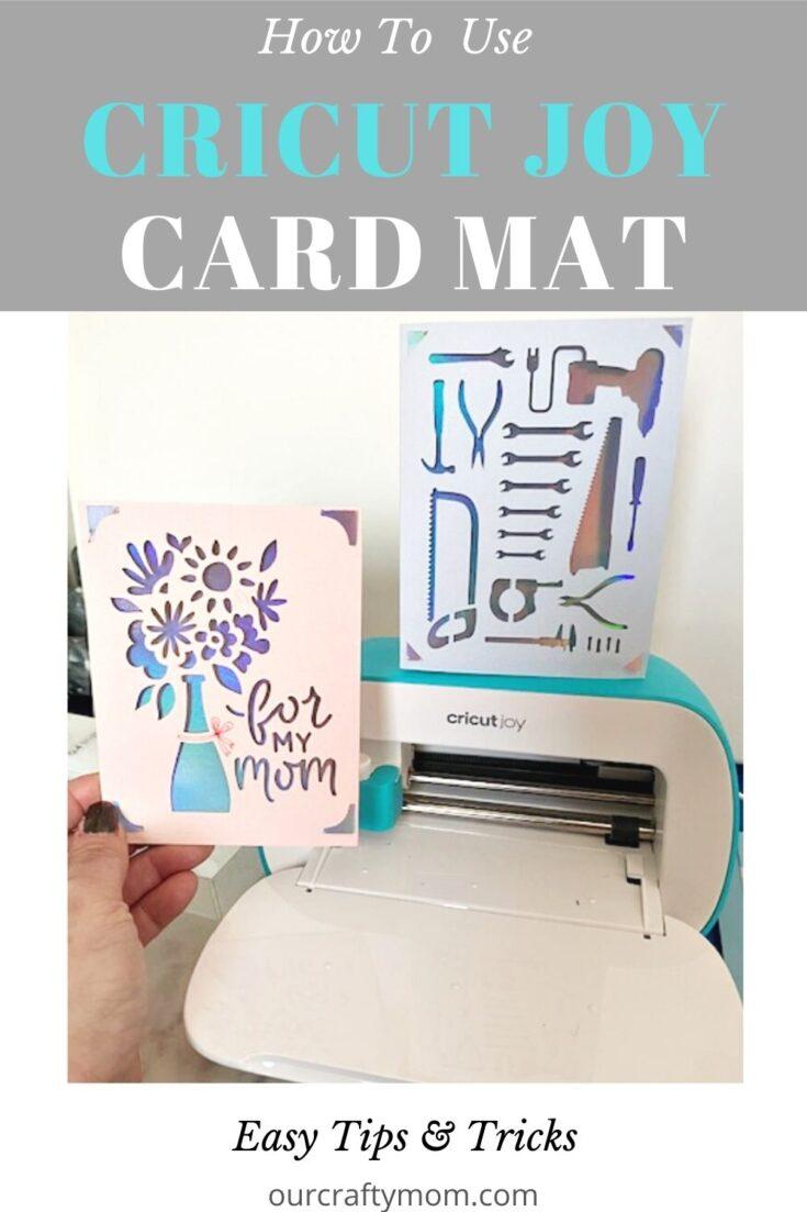 cricut joy card mat tips and tricks