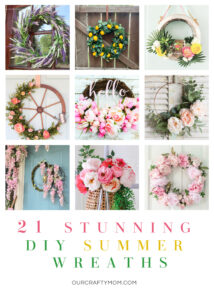 21 DIY Summer Wreaths