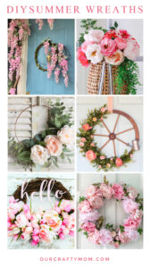 DIY Summer Wreaths For Your Front Door