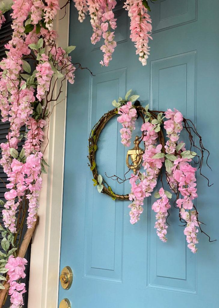 Wisteria Vine Wreath
