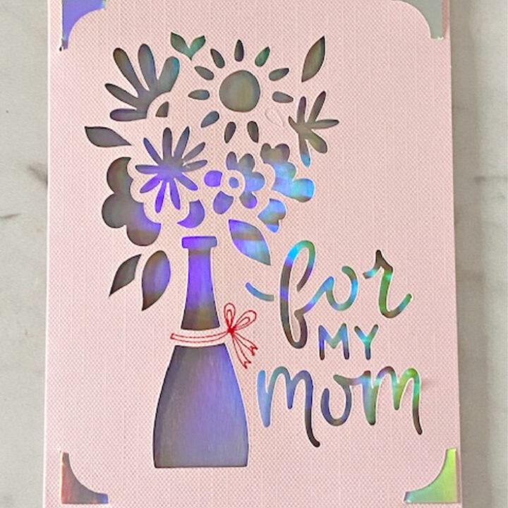 cricut joy mother's day card