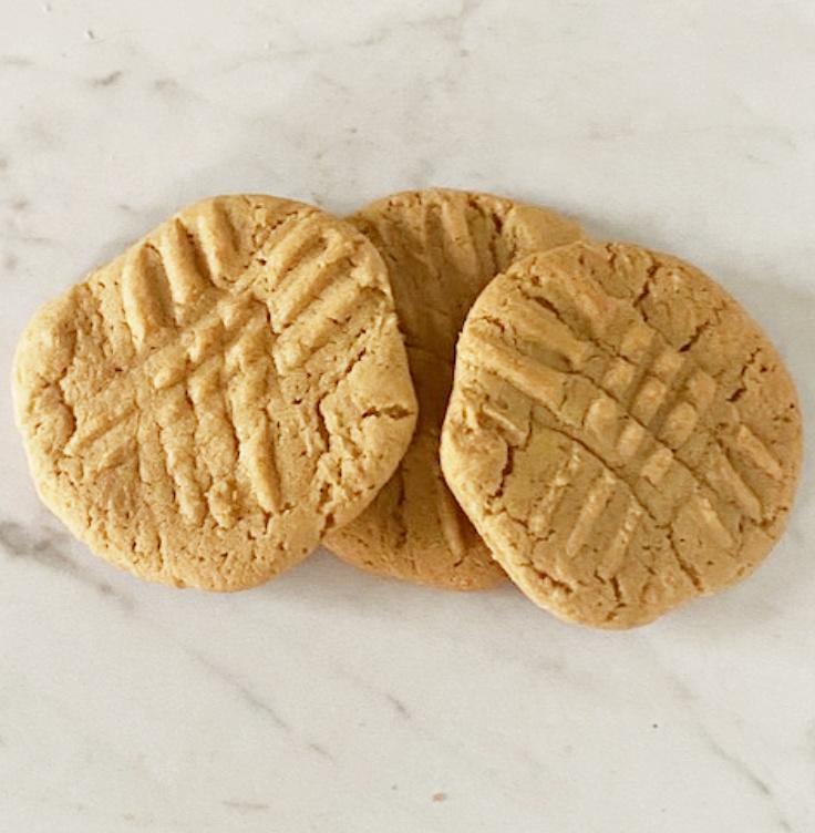 easy pb cookies