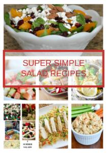 7 simple salads