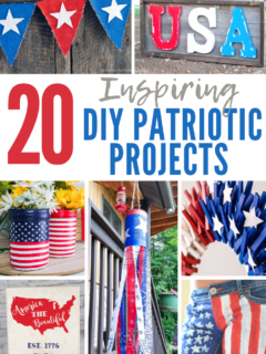 Patriotic home decor diy projects