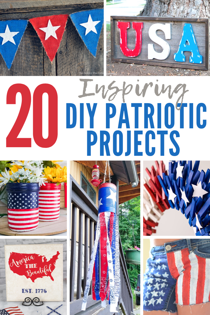 Inspiring DIY Patriotic projects