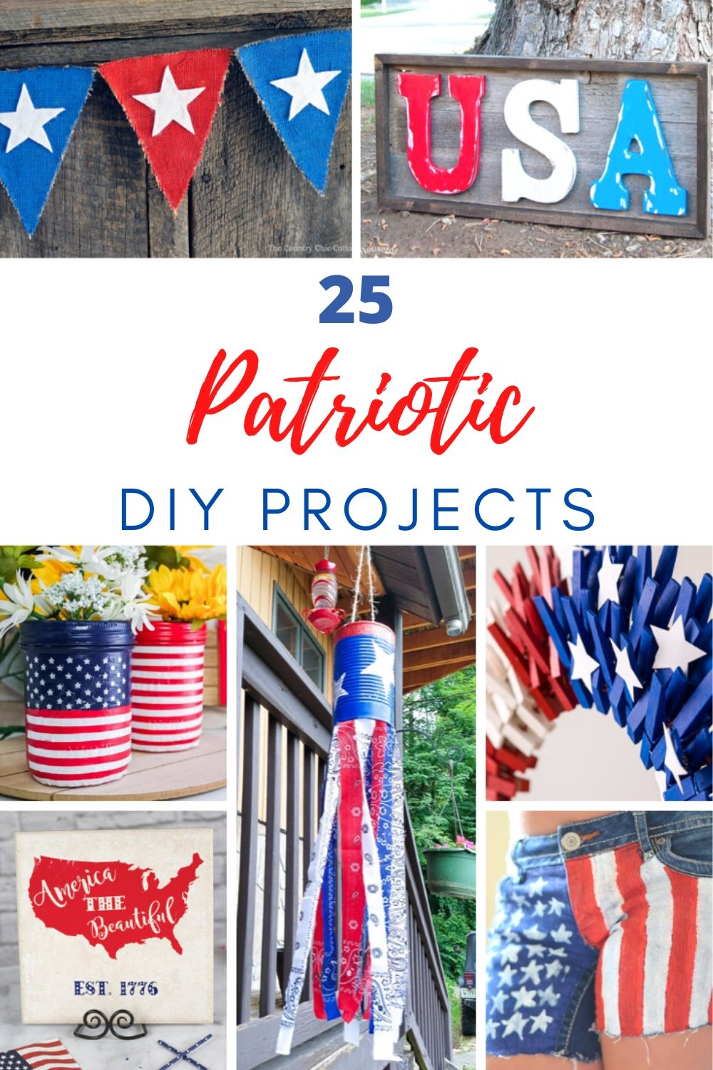 25 diy patriotic projects
