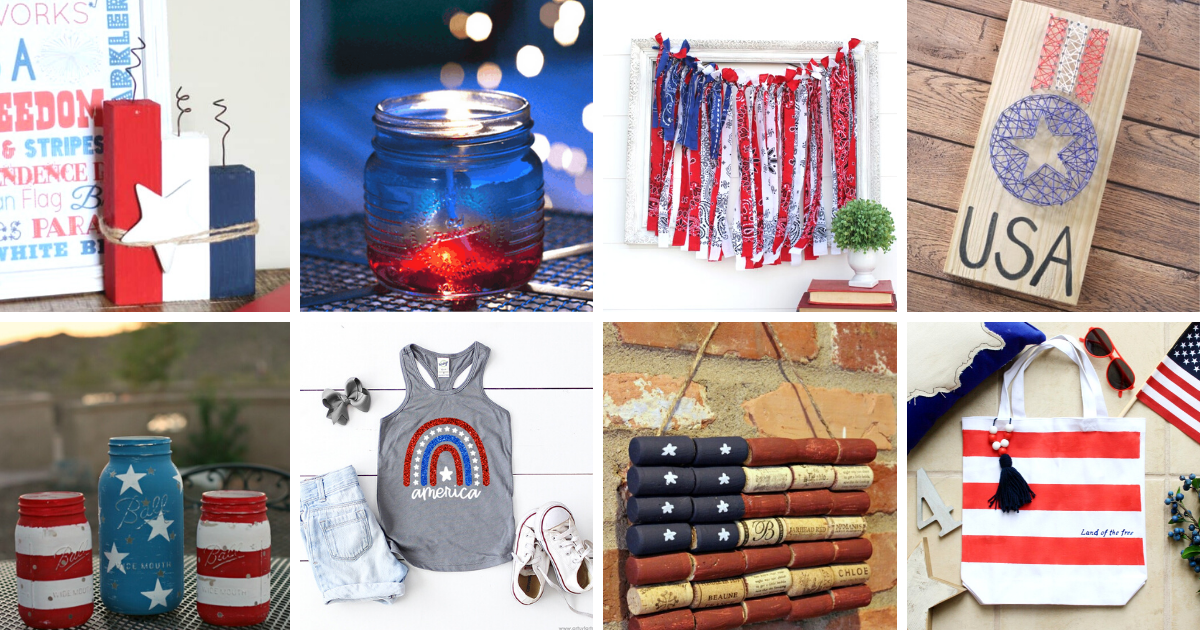20 Inspiring DIY Patriotic Projects (