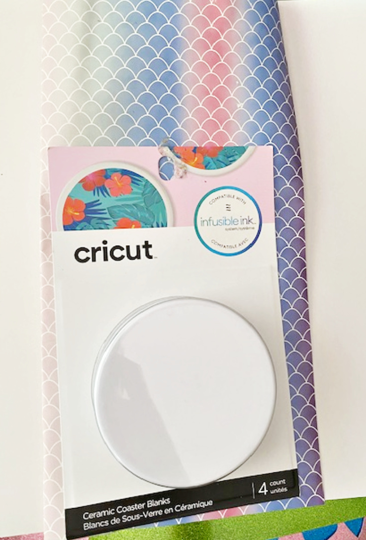 cricut coaster supplies