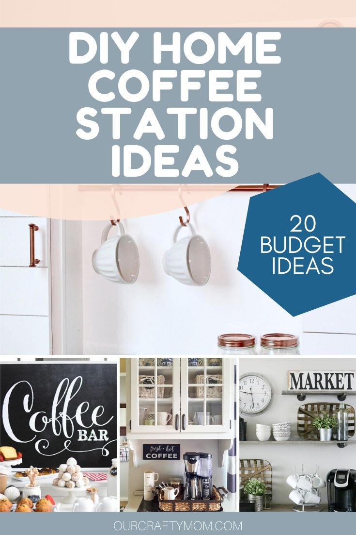 diy home coffee station ideas