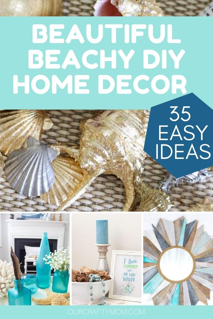 beautiful beachy home decor ideas