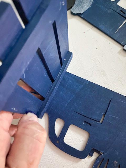 Glue crate to truck