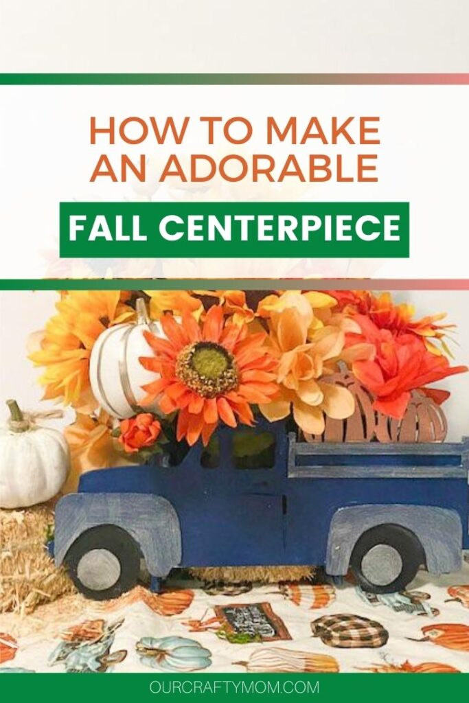 Make An Adorable Diy Dollar Tree Fall Centerpiece