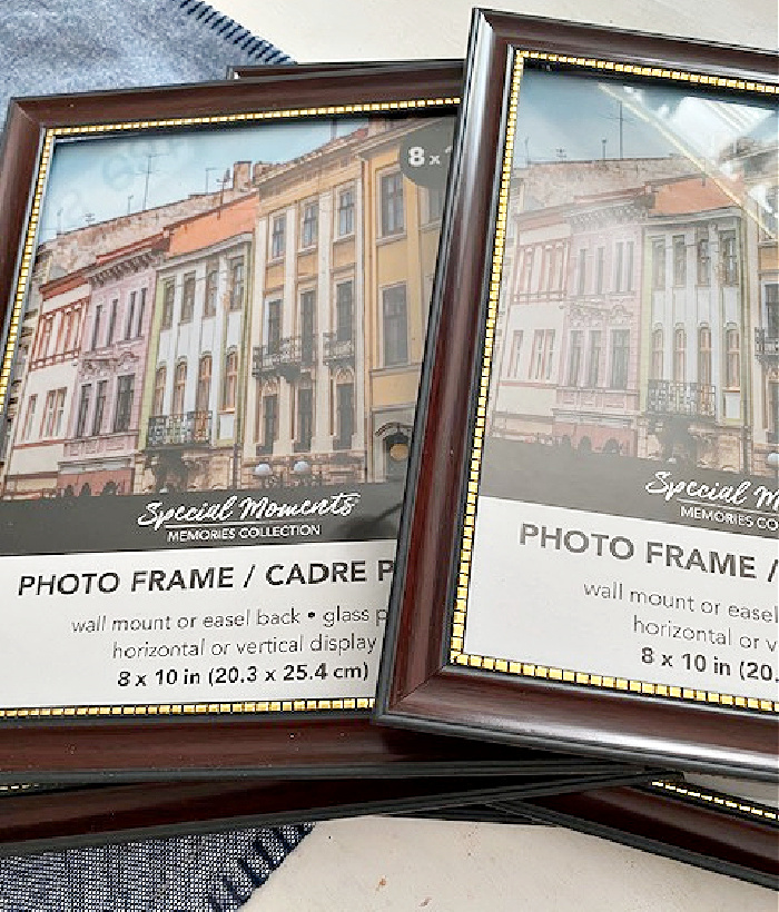dollar tree picture frames